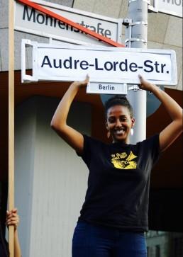 Audre Lorde - Strassenumbenennung - Just Listen - Berlin Postkolonial 5
