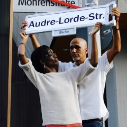 Audre Lorde - Straßenumbenennung - Just Listen - Berlin Postkolonial